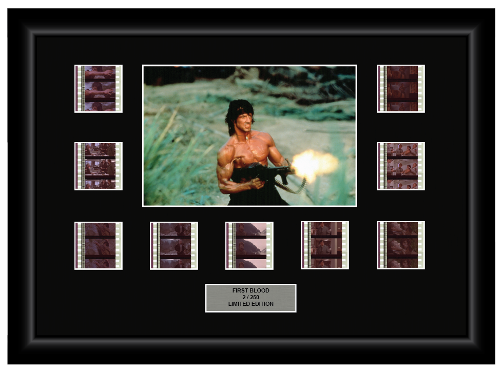 Rambo: First Blood (1982) - 9 Cell Display
