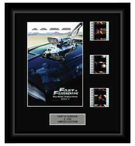 Fast and Furious (4) (2009) - 3 Cell Display Film Display