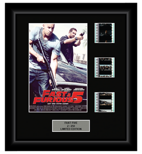Fast and Furious (5) (2011) Fast Five - 3 Cell Display Film Display