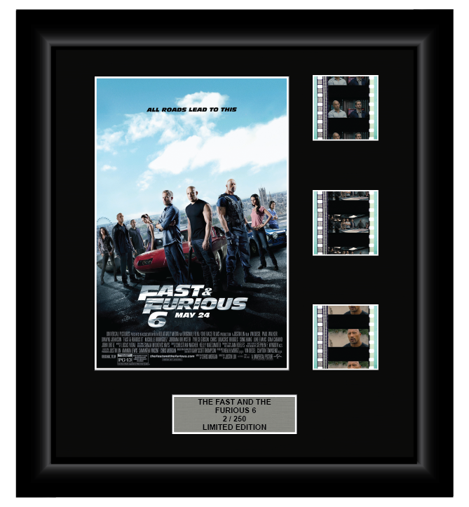 Fast and Furious (6) (2013) - 3 Cell Display Film Display