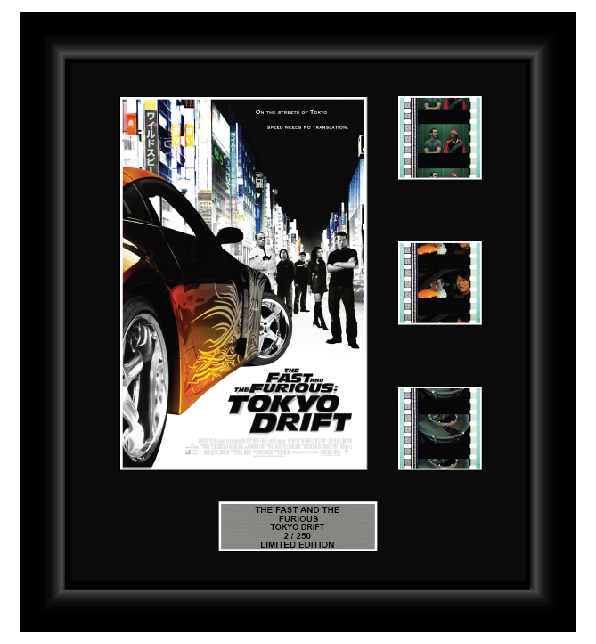 Fast and the Furious: Tokyo Drift (3) (2006) - 3 Cell Display Film Display