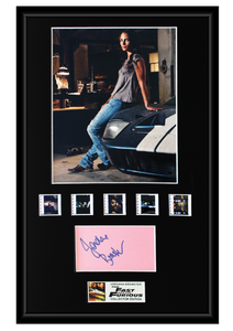 Jordana Brewster - Fast and the Furious (2001) Autographed Film Cell Display (1)