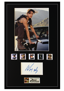 Michelle Rodriguez - Fast and the Furious (2001) Autographed Film Cell Display (1)