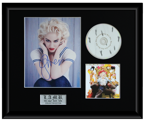 Gwen Stefani Autographed Music CD Display