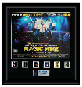 Magic Mike (2012) - Autographed Film Cell Display