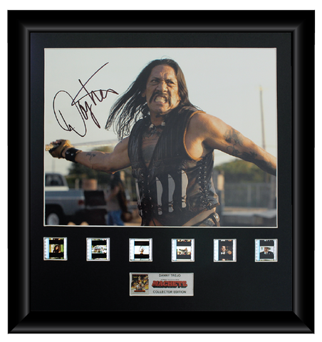 Machete - Autographed Film Cell Display