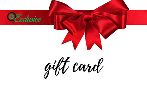 Gift Card Denominations from $10 to $100