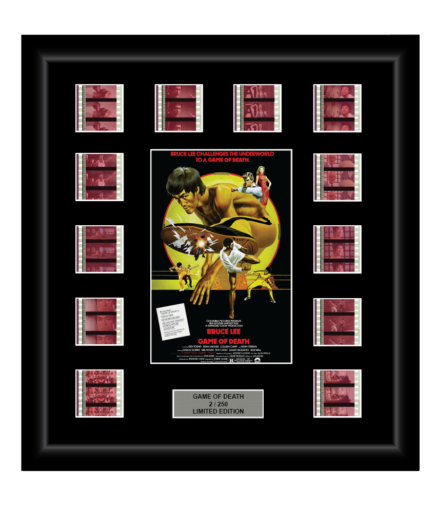 Game of Death (1978) - 12 Classic Cell Display - ONLY 1 AT THIS PRICE