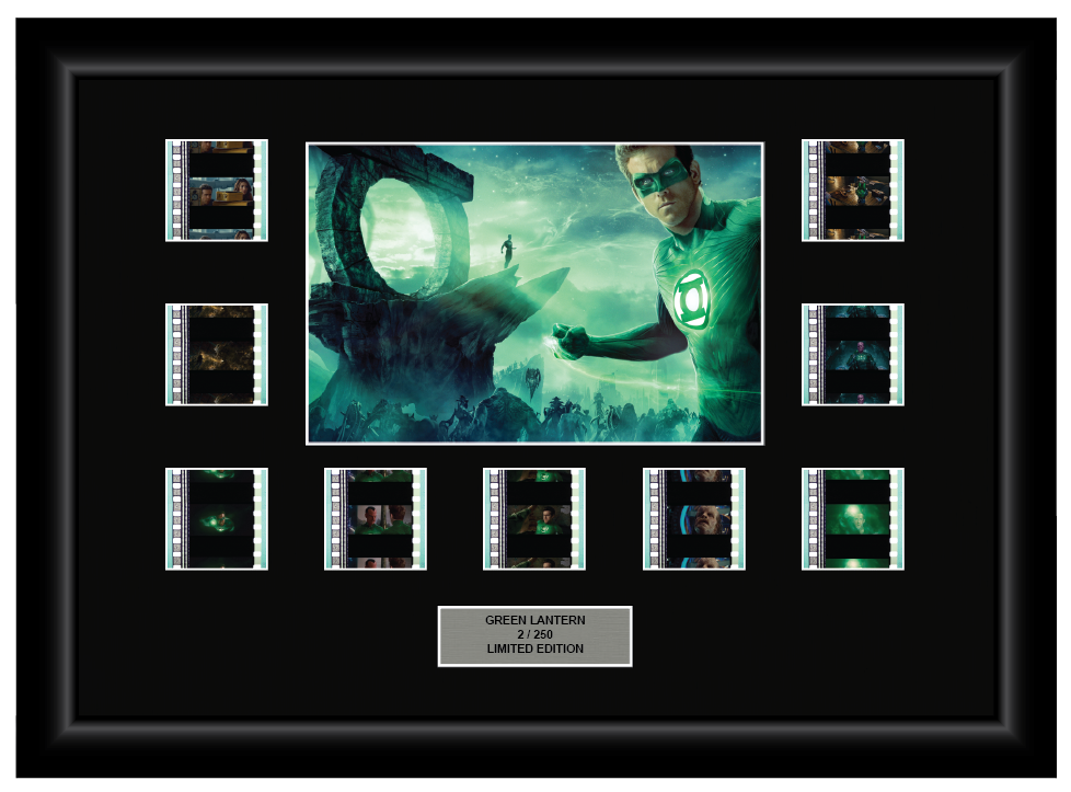 Green Lantern (2011) - 9 Cell Display