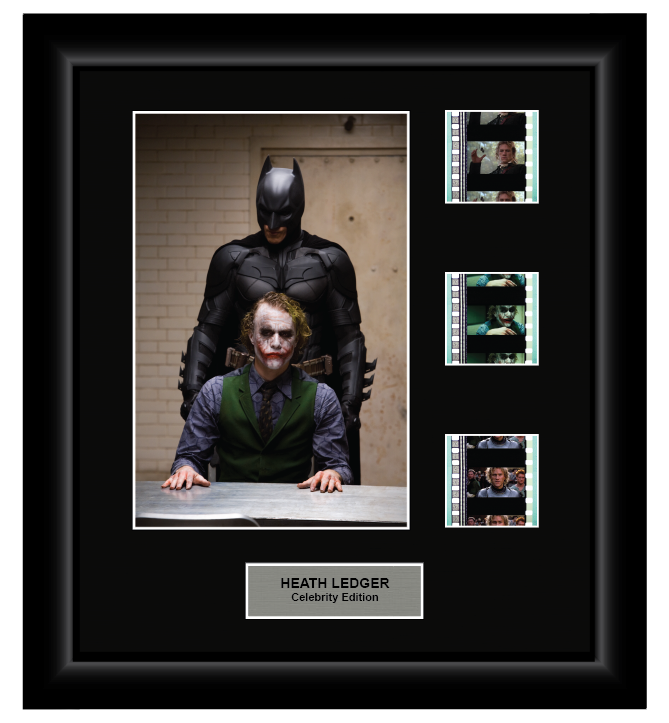 Heath Ledger (Style 3) - 3 Cell Display - ONLY 5 AT THIS PRICE!