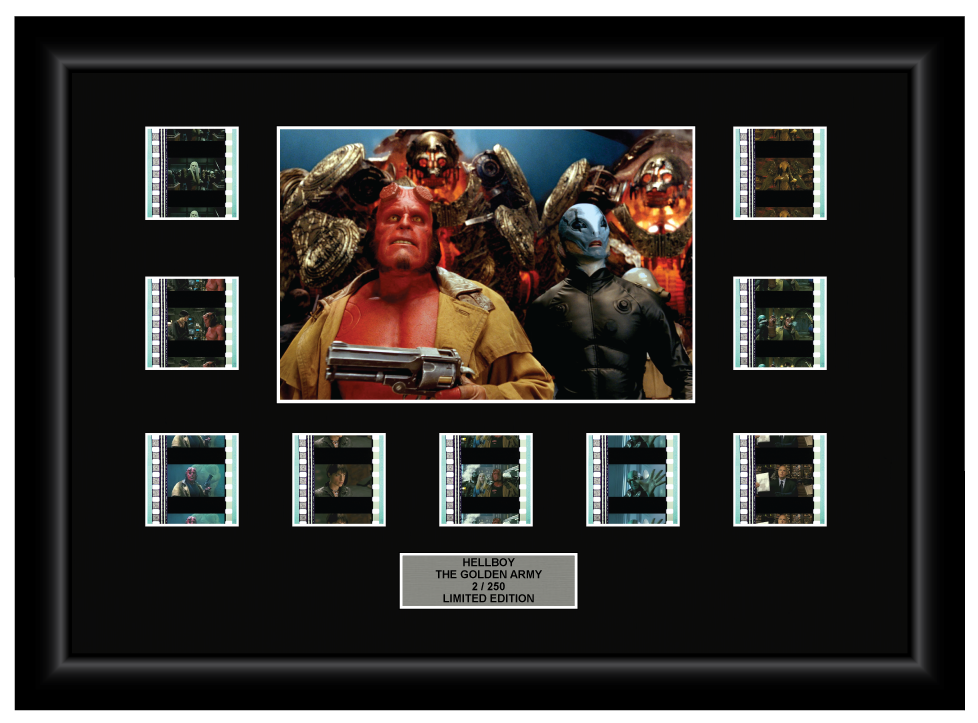 Hellboy II: The Golden Army (2008) - 9 Cell Display