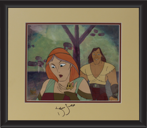 Kevin Sorbo Autographed Animation Cell Display (2)