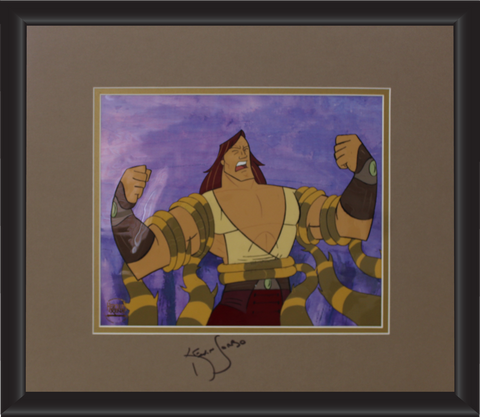 Kevin Sorbo Autographed Animation Cell Display (7)