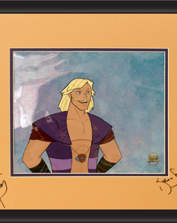 Kevin Sorbo Autographed Animation Cell Display (8)