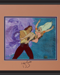 Kevin Sorbo Autographed Animation Cell Display (11)