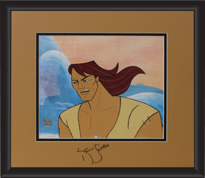 Kevin Sorbo Autographed Animation Cell Display (12)