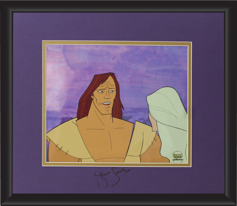 Kevin Sorbo Autographed Animation Cell Display (13)