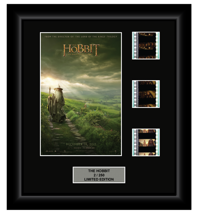 Hobbit: An Unexpected Journey (2012) - 3 Cell Display