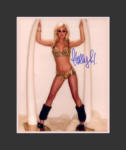 Holly Huddleston Autograph - Benchwarmer Model | TVs Sunset Tan | One of the 'Olly Girls'