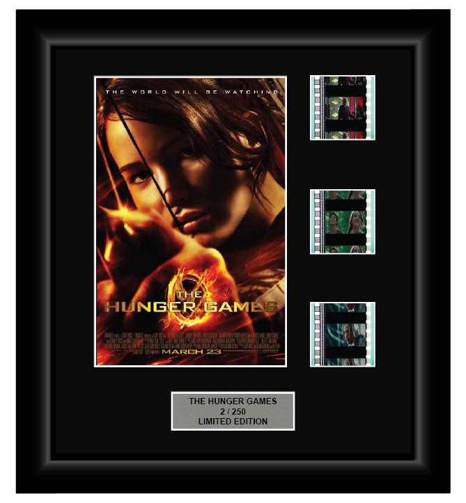 Hunger Games (2012) - 3 Cell Display