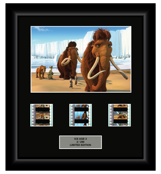 Ice Age 2: The Meltdown (2006) - 3 Cell Display (Style 2)