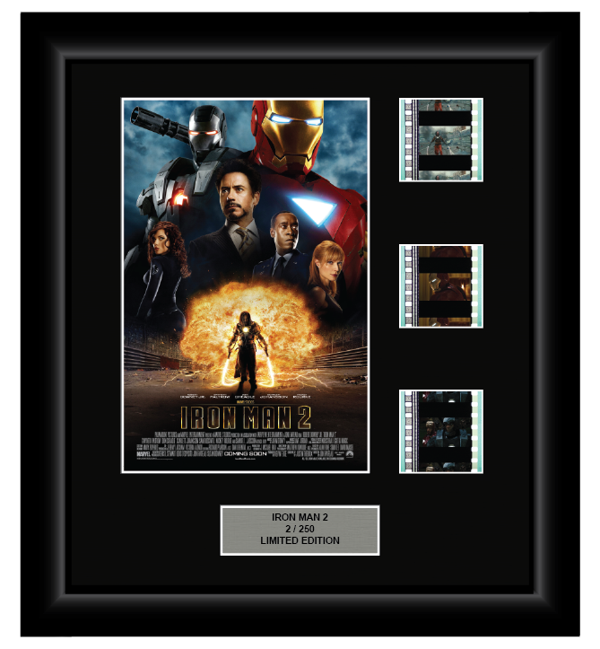 Iron Man 2 (2010) - 3 Cell Display