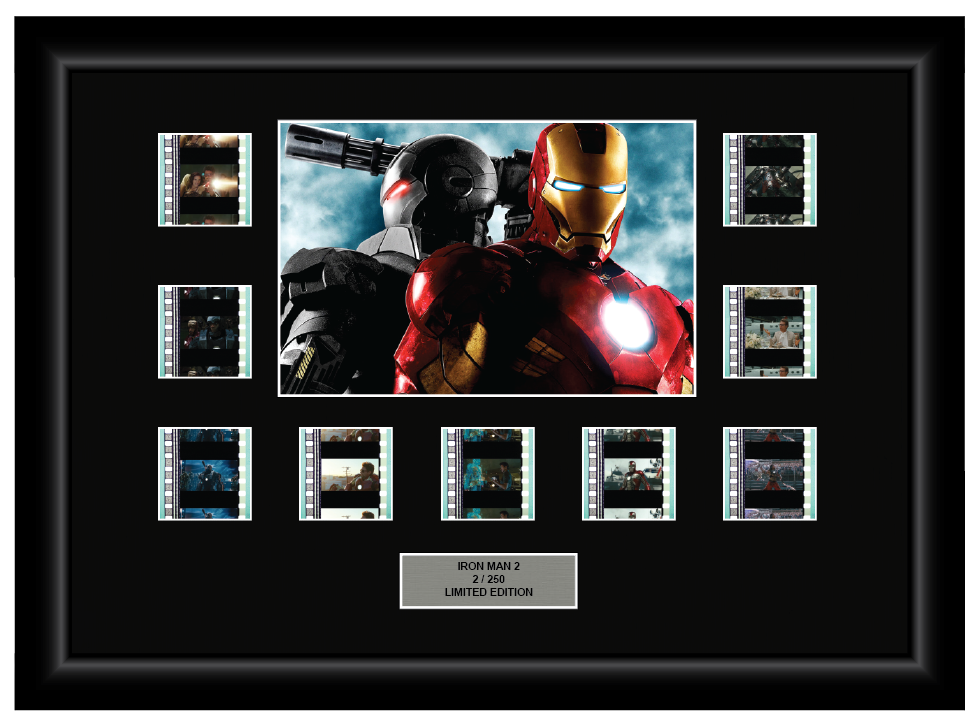 Iron Man 2 (2010) - 9 Cell Display