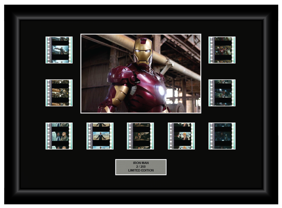 Iron Man (2008) - 9 Cell Display