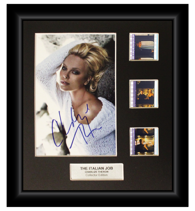 The Italian Job (2003)  - 3 Cell Autographed Display