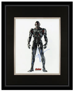 James Spader (Ultron) - Avengers: Age of Ultron - 11x14 Autographed Display
