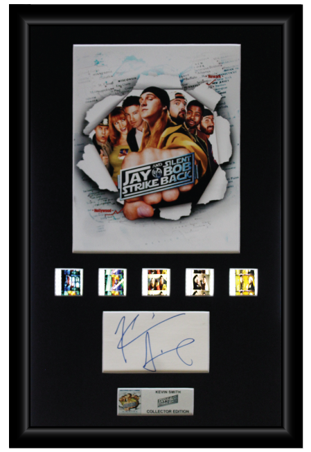 Jay and Silent Bob (2001) - Autographed Kevin Smith Film Cell Display