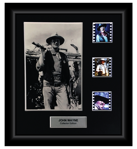 John Wayne Celebrity Edition - 35mm Slide Display