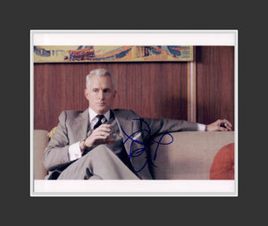 John Slattery Autograph - Actor | Mad Men | Mona Lisa Smile | Churchhill | Ant Man | VEEP