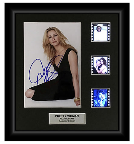 Pretty Woman (Julia Roberts) - Autographed Film Cell Display