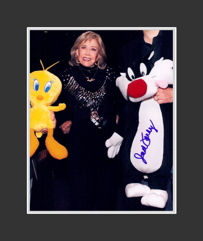 June Foray Autograph (1917-2017) - Voice Actress | Rocky & Bull Winkle | The Looney Tunes Show