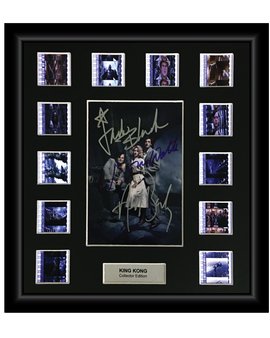 King Kong (2005) - Autographed 12 Cell Film Display