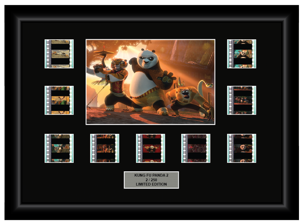 Kung Fu Panda 2 (2011) - 9 Cell Display