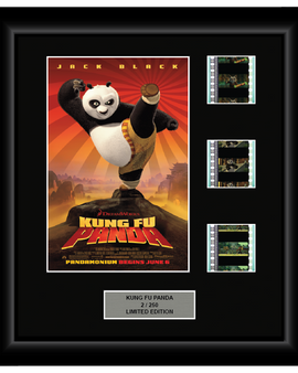 Kung Fu Panda (2008) - 3 Cell Display