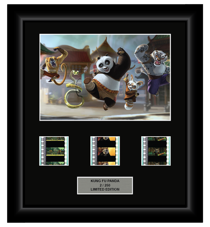 Kung Fu Panda (2008) - 3 Cell Display (Style 2) - ONLY 1 AT THIS PRICE!