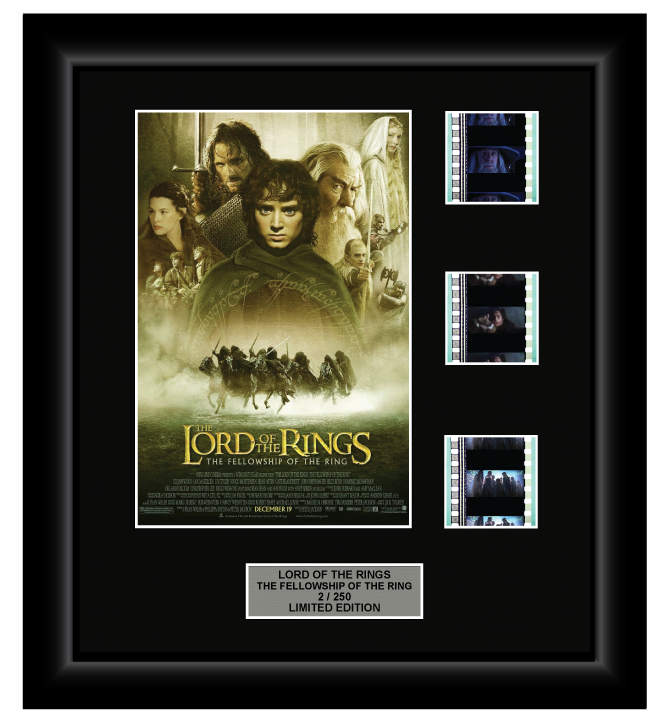 Lord of the Rings: The Fellowship of the Ring (2001) - 3 Cell Display