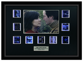 The Lake House (2006) - Autographed 9 Cell Film Display