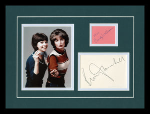 Laverne & Shirley Autographed Display