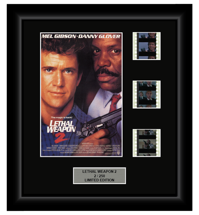 Lethal Weapon 2 (1989) - 3 Cell Display