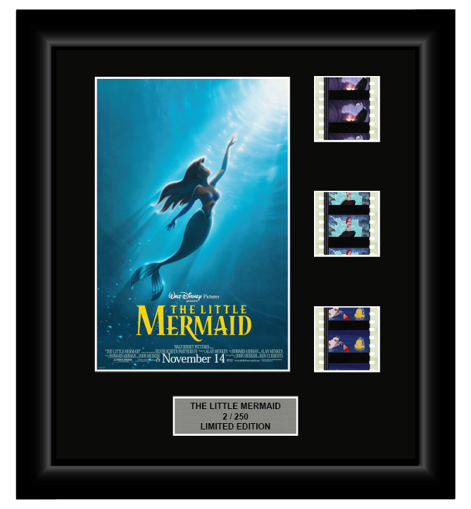 Little Mermaid (1989) - 3 Cell Display Film Display
