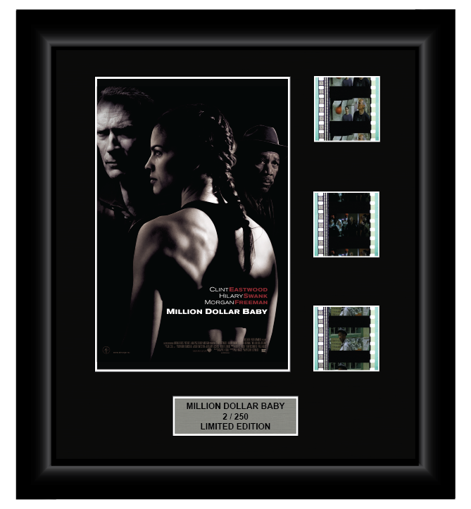 Million Dollar Baby (2004) - 3 Cell Display
