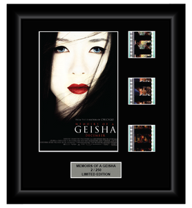 Memoirs of a Geisha (2005) - 3 Cell Display Film Display (Series 1)
