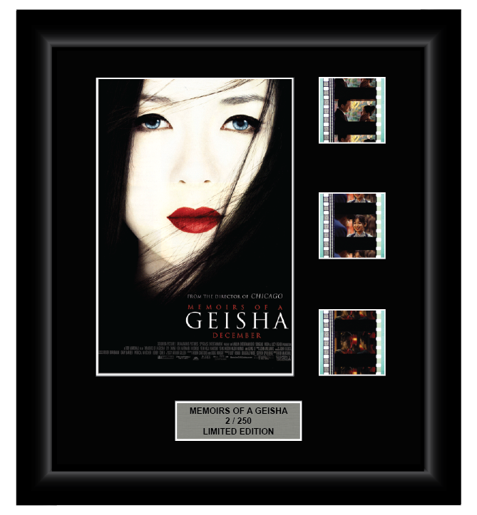 Memoirs of a Geisha (2005) - 3 Cell Display Film Display - ONLY 1 AT THIS PRICE!