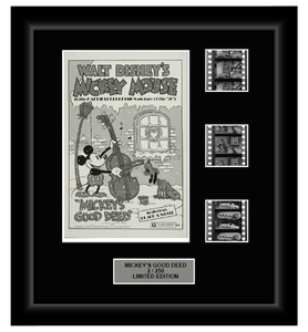 Mickey's Good Deed (1932) (Classic Disney) - 3 Cell Classic Display