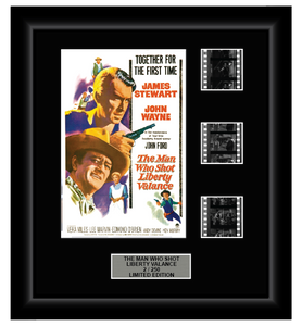 Man Who Shot Liberty Valence, The (1962) - 3 Cell Classic Display (Style 1)