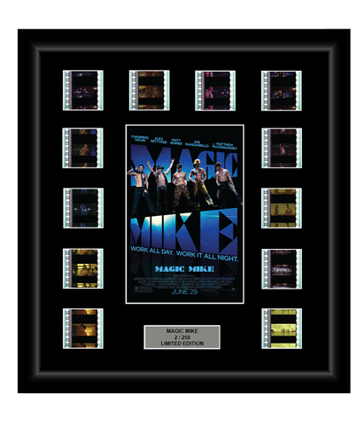 Magic Mike (2012) - 12 Cell Film Display